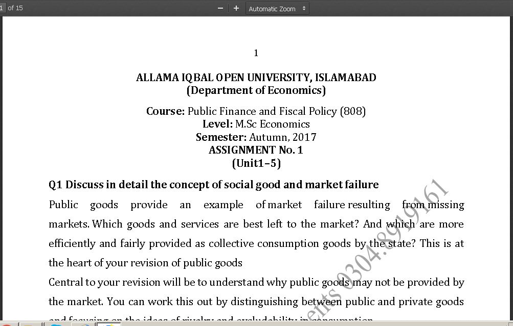 public finance assignment Looking for public financial management (pfm) consulting assignments we  suggest you visit the websites listed below if you are seeking pfm assignments  in.